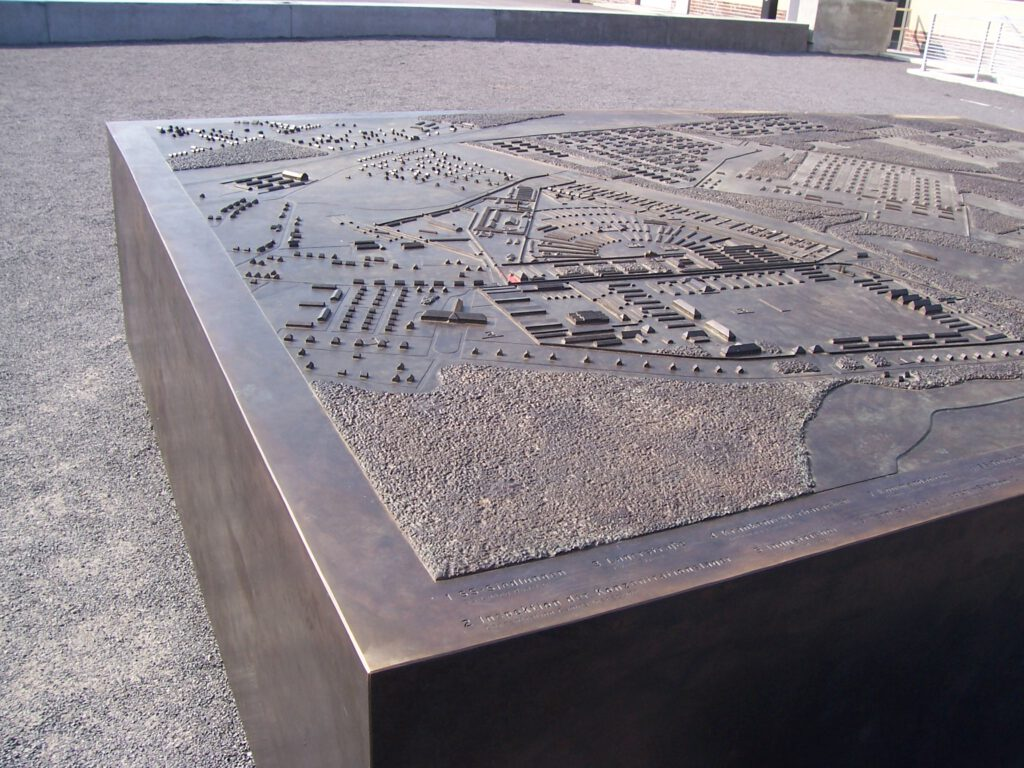 Sachsenhausen Topographisches Modell